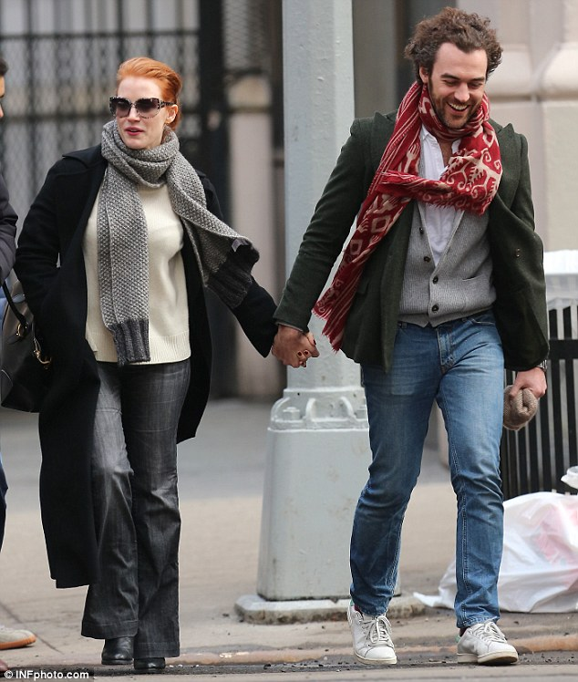 Jessica Chastain Is Married To Her Longtime Boyfriend Gian