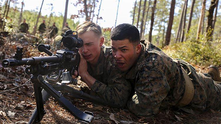 Kane: Marines camp was amazing