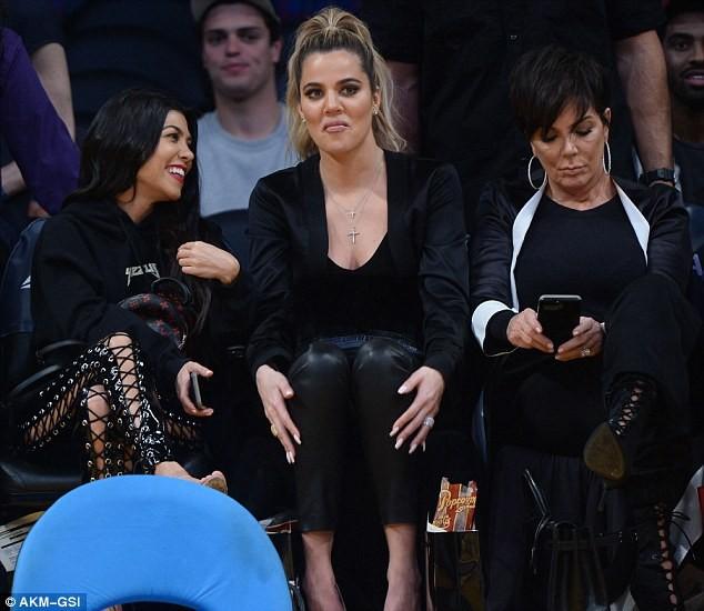 Khloe Kardashian Brings Kourtney Kardashian and Kris Jenner to Support Tristan Thompson at NBA Finals