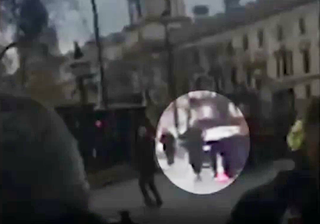 London Terror Footage Shows Cops Gunning Down Attackers