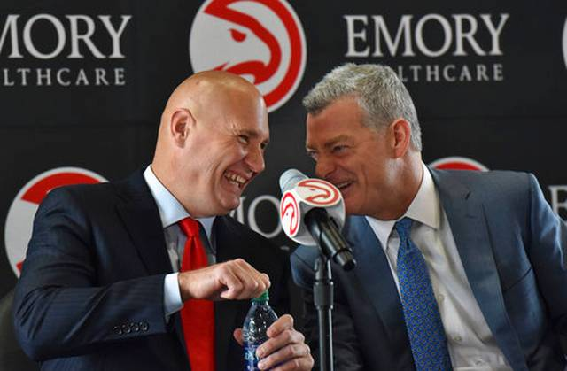 New Atlanta Hawks GM Travis Schlenk faces tricky personnel questions