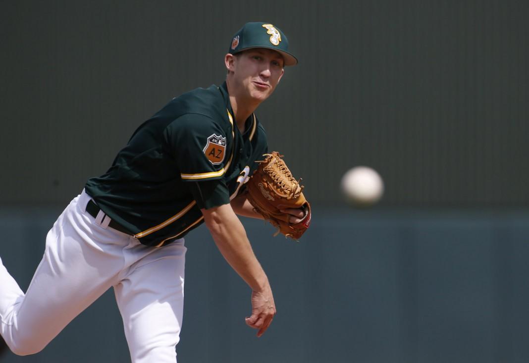 Oakland A's expected to call up pitcher Daniel Gossett