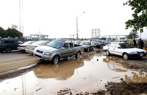 PHOTOS: Lagos to transform International Airport Road