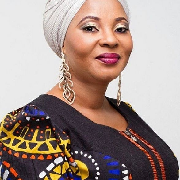 Photos: Mercy Aigbe stepped pictured at Moji Olaiya's memorial tribute