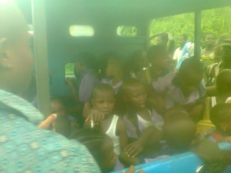 PHOTOS: Pupils survive ghastly accident in Imo