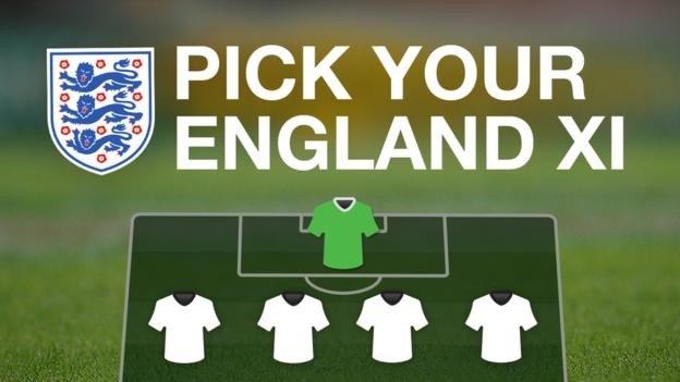 Pick your England XI