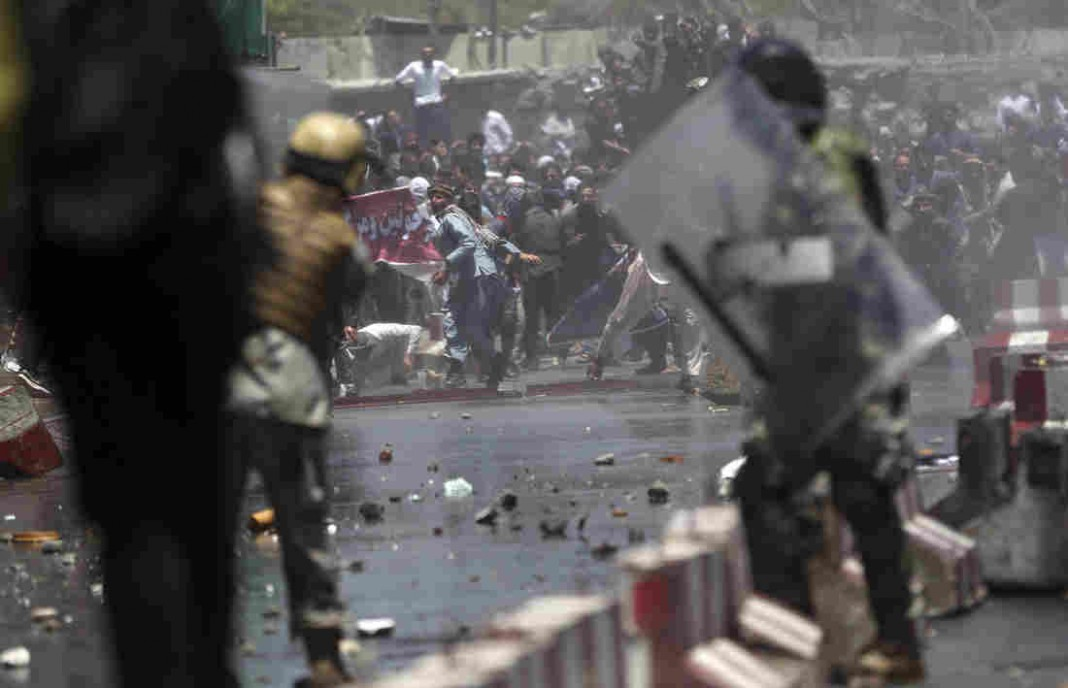Protesters Killed During Demonstration Over Massive Bomb Attack In Kabul