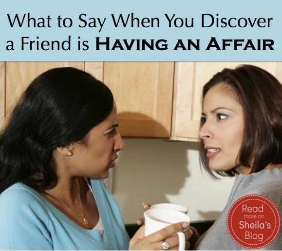 Affair my with my had friend wife an A one