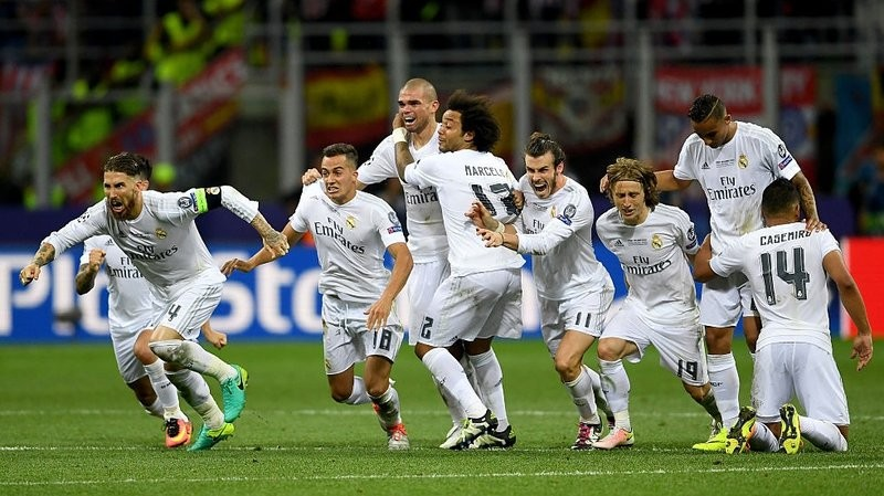 Real win CL - as it happened