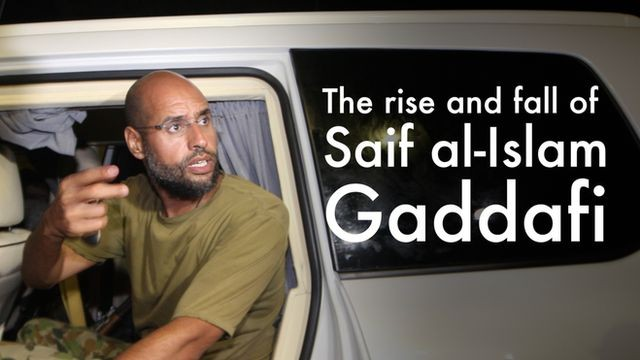 Rise and fall of Gaddafi's heir apparent, Seif al-Islam
