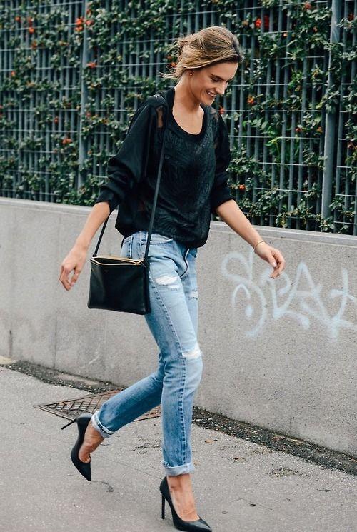 Saturday Savings: Alessandra Ambrosio's Sweater Is Now Under $100