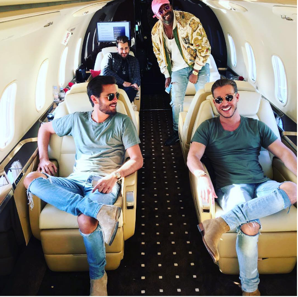 Scott Disick Remains Silent as He's Asked About His Cannes Women