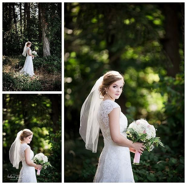 Sometimes the Simplest Bridal Session Is the Prettiest