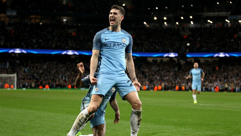 Stones 'could play in midfield'