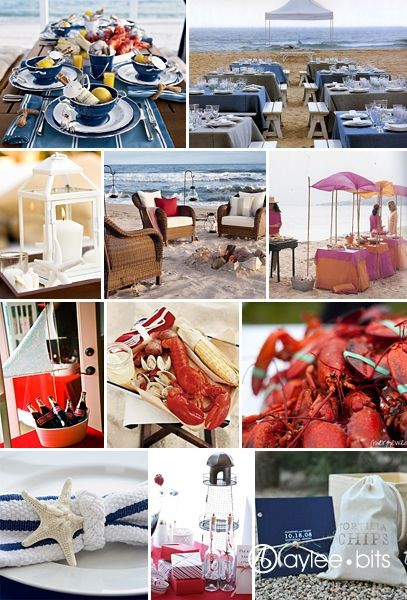 Stylish Southern Clambake Welcome Dinner