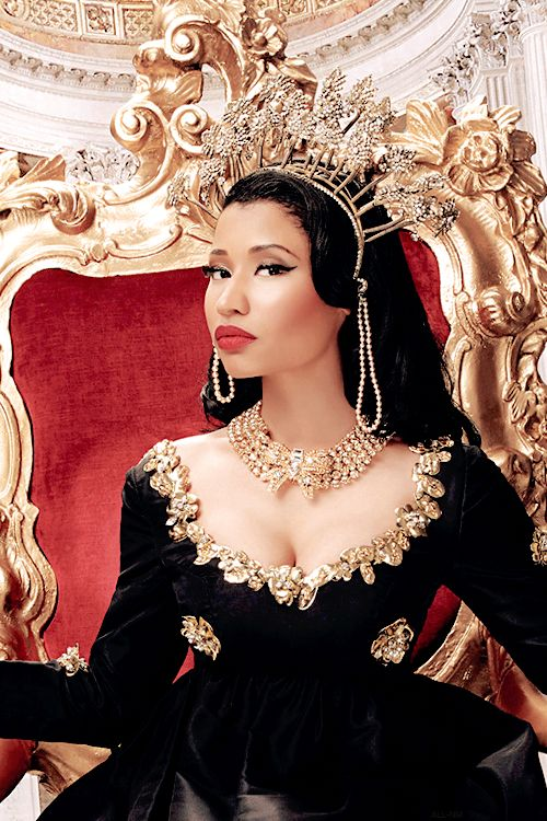 The Queen! Nicki Minaj takes The Crown as The Most Awarded ...
