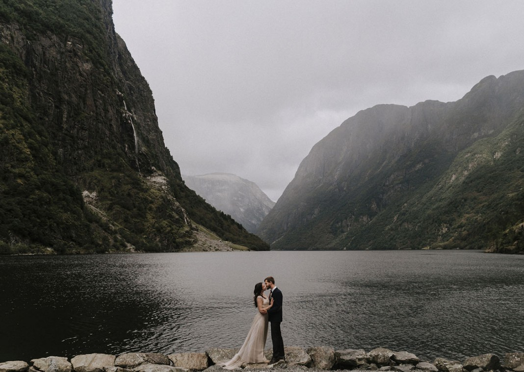 This Couple Hiked for Three Days to Get These Epic Engagement Shots in Norway