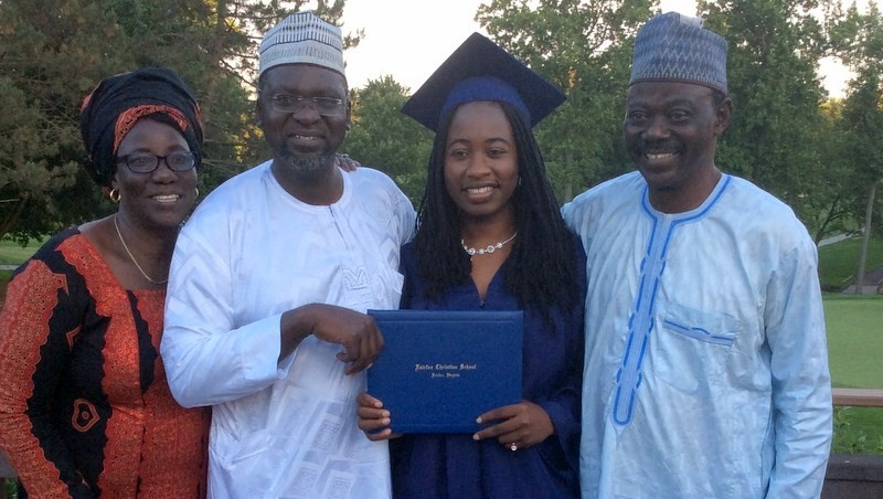 Two Chibok Girls graduate from High School in The US