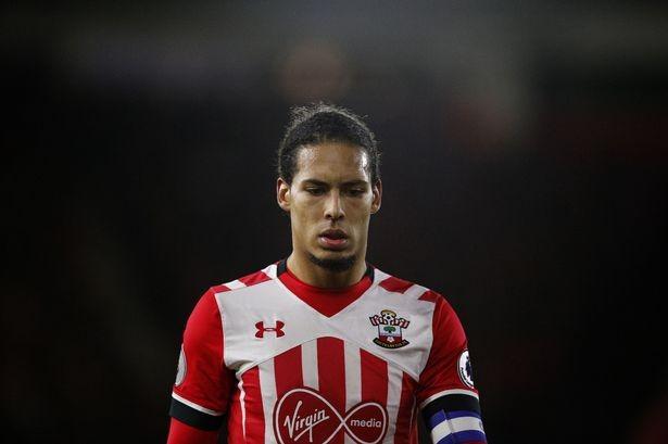 Van Dijk wants Liverpool move