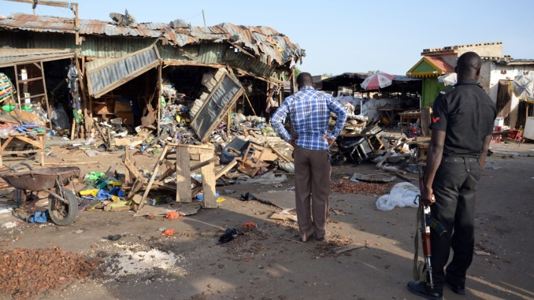 12 killed, 40 wounded in Cameroon suicide bomb attack