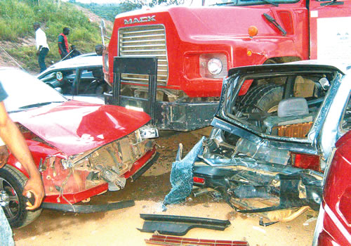 7 die, 12 injured in Enugu multiple auto crashes