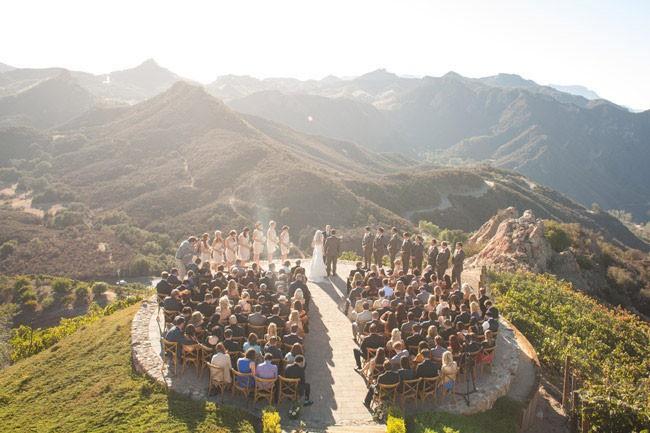 A Gorgeous Elopement Set Above the Hills of Malibu