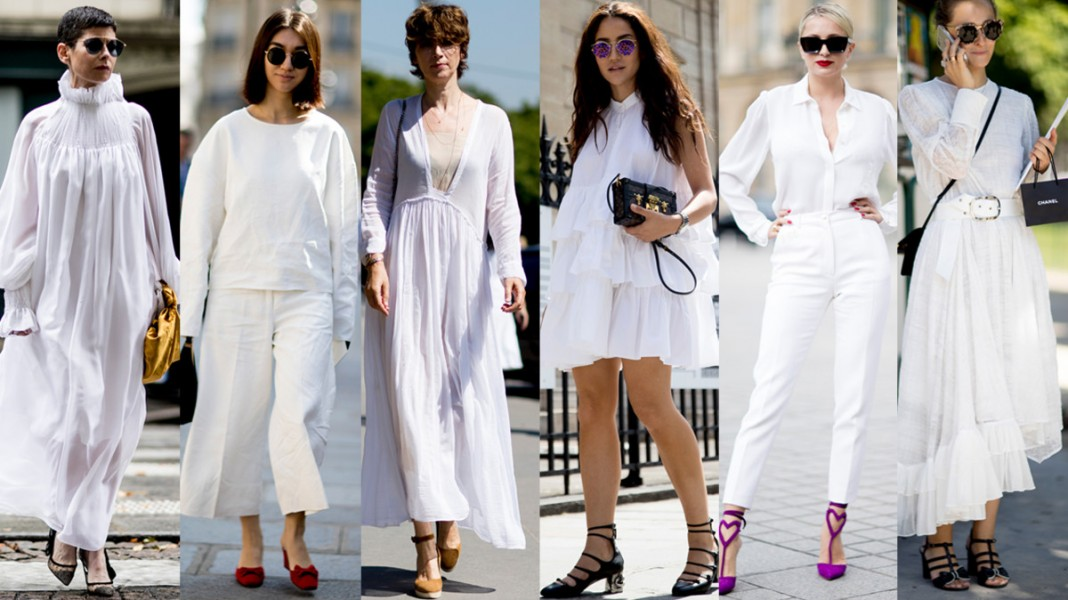 All-White Outfits Were a Street Style Favorite at Paris Couture Week