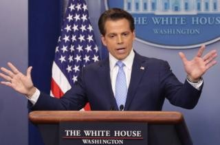 Anthony Scaramucci sacked as Trump media chief