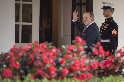 At the White House, an abrupt chain reaction: Spicer out; Scaramucci and Sanders in