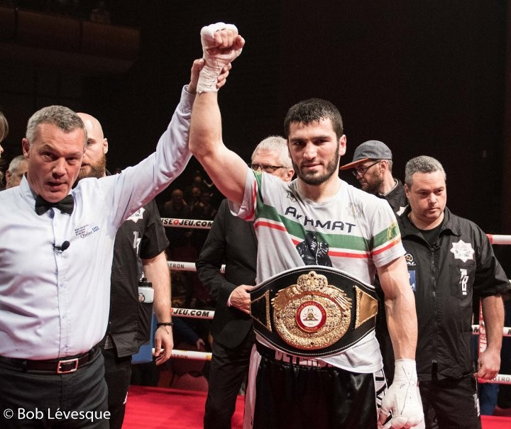 Beterbiev-Koelling fight, set for July, called off
