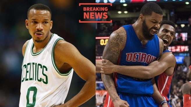 Boston Celtics trade Avery Bradley to Detroit Pistons for Marcus Morris