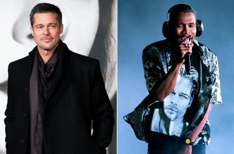Brad Pitt Makes a Cameo During Frank Ocean's FYF Fest 2017 Set