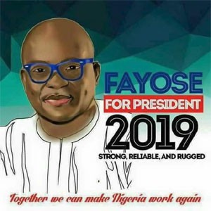 Breaking: Fayose allegedly launches Presidential campaign banner