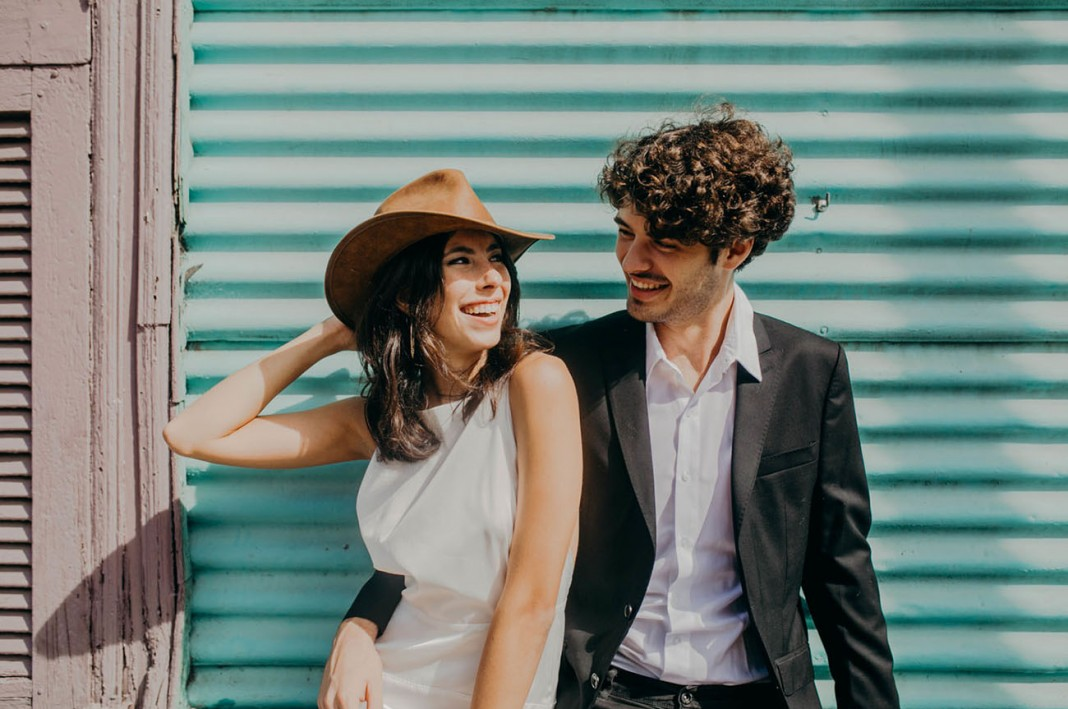 Buenos Aires is for Lovers: A Colorful + Urban Engagement Session in La Boca