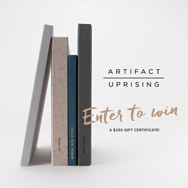 Celebrate Your Wedding With Artifact Uprising (Plus, a $250 Giveaway!)