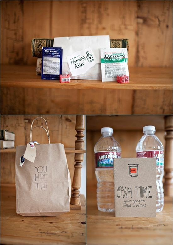 Curate a Thoughtful + Practical Wedding Welcome Bag