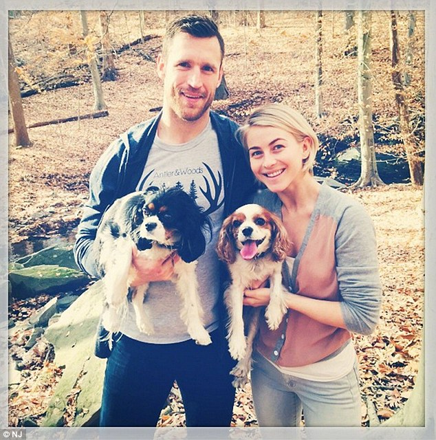 Dancing With The Stars Julianne Hough And Brooks Laich Are