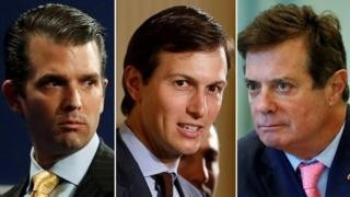 Donald Trump's son and aides to testify in Senate about Russia