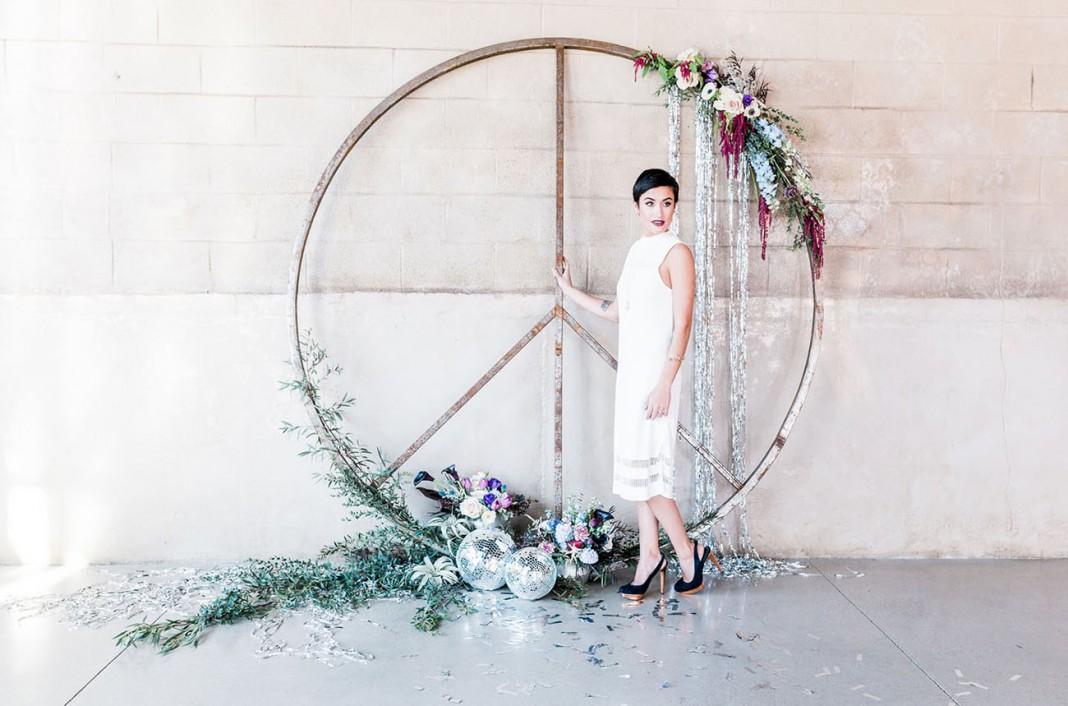 Dreams of Druzy: Modern + Glam Jewel-Toned Wedding Inspiration