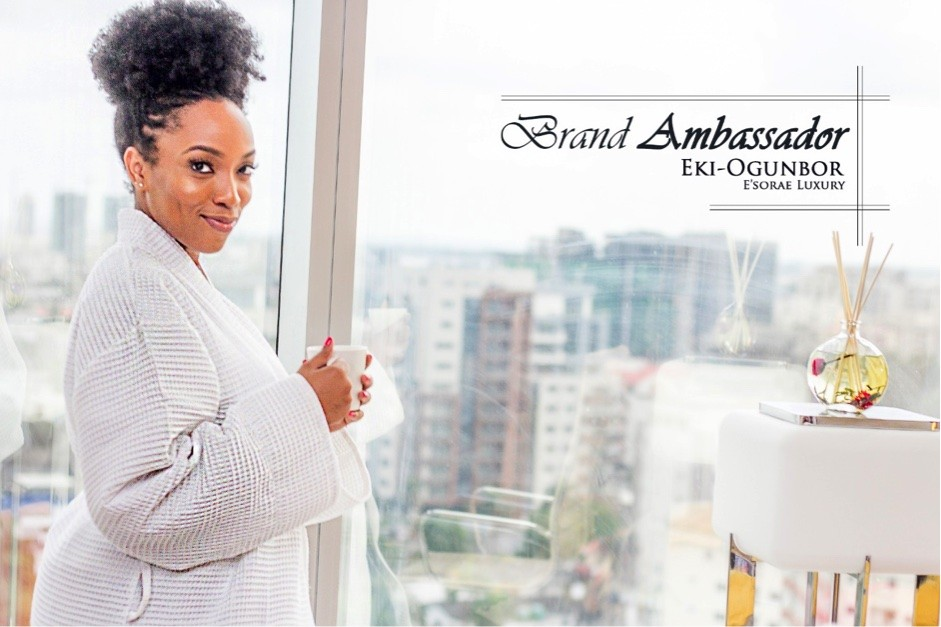 E'Sorae Luxury renews Endorsement Deal with Eki Ogunbor for the Second Year
