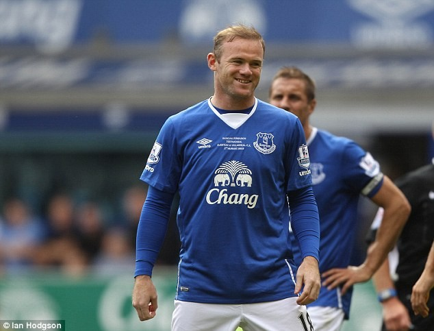 Everton confirm Rooney return