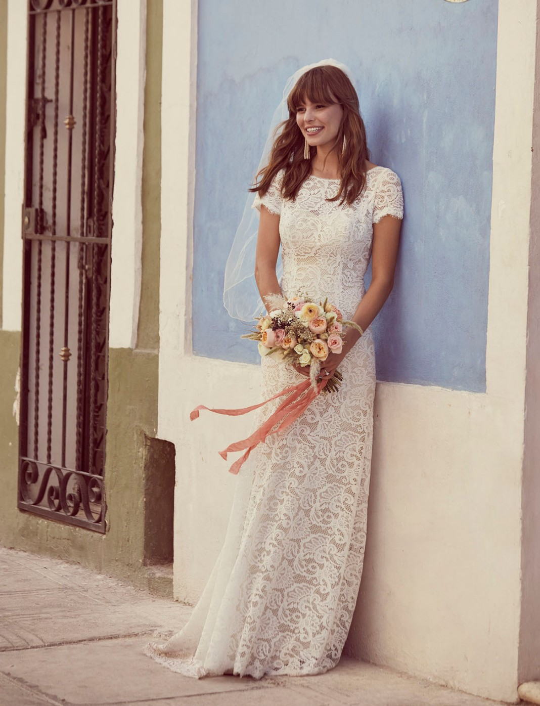 For the Free-Spirited Bride: Introducing the Galina Collection From David's Bridal