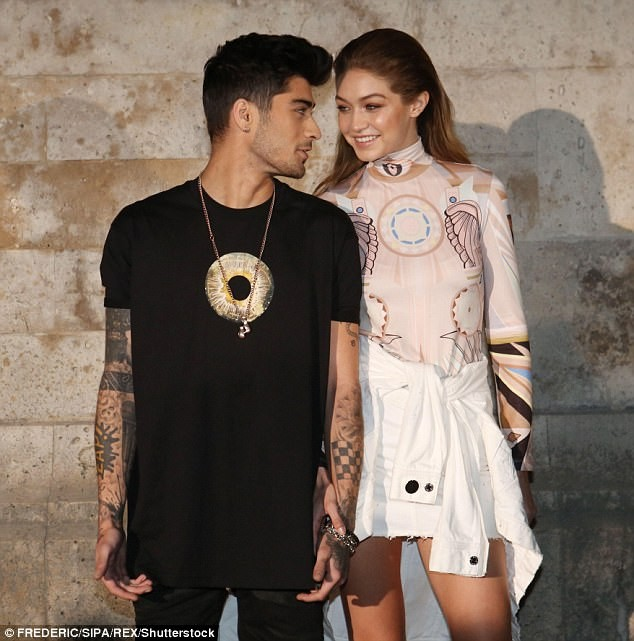 Gigi Hadid and Zayn Malik Cover Vogue and Talk Fashion, Gender and Borrowing Each Other's Clothes
