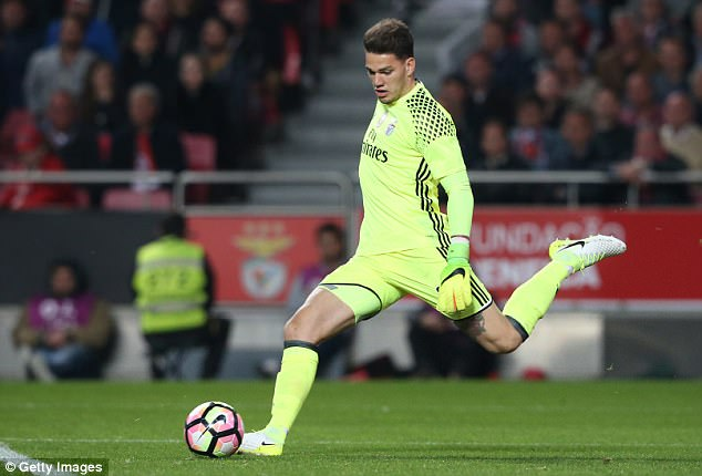 Guardiola: Ederson will be Brazil's No.1