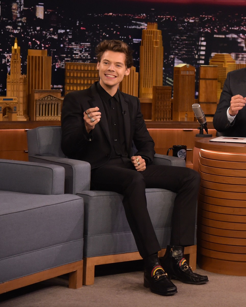 Harry Styles Has Been in New York for Two Days and Is Already Wearing Head-to-Toe Black