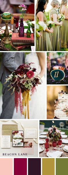 Inspired by Jewel Tones and the Most Beautiful Personalized Details