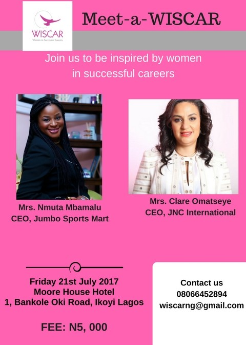 Interact with inspiring & successful women at the Meet-a-WISCAR series | Wednesday, July 21st