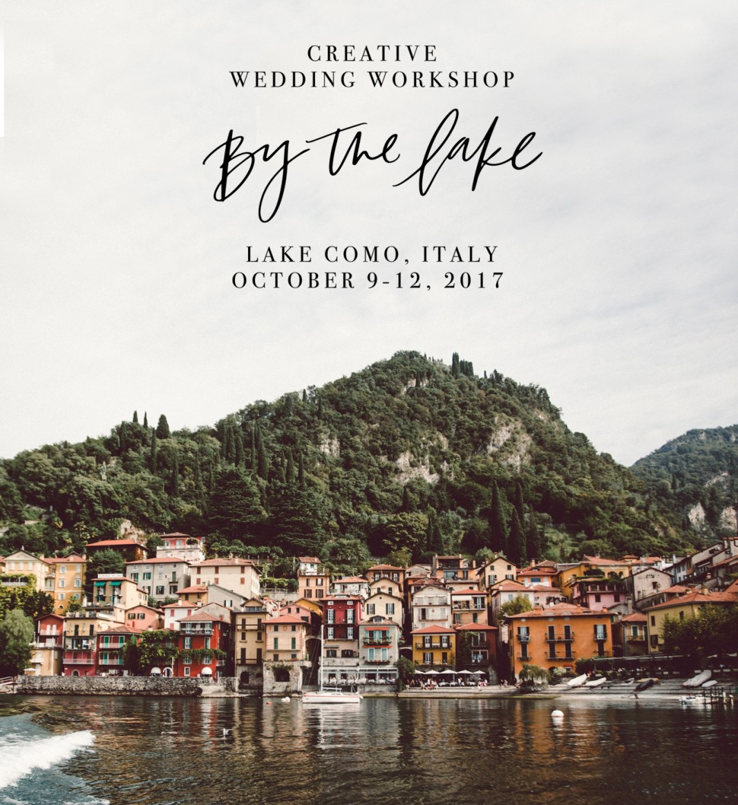 Join GWS in Lake Como at the By The Lake Workshop!