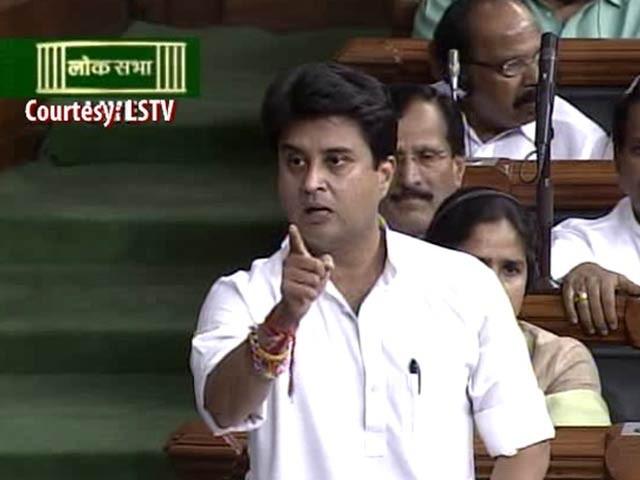 Jyotiraditya Scindia offers to resign if BJP proves he is 'anti-Dalit'