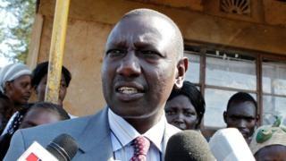 Kenya Deputy President Ruto's home stormed by gunmen